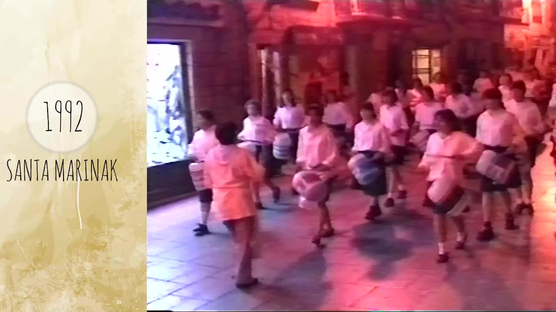 Atzera begira Santa Marina jaiak 1992