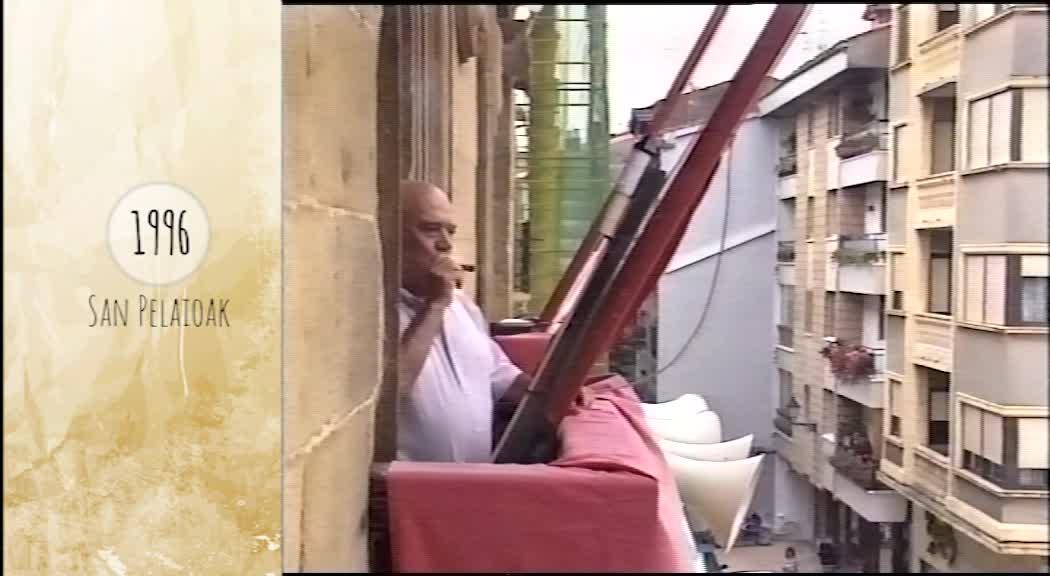 Atzera begira San Pelaioak 1996