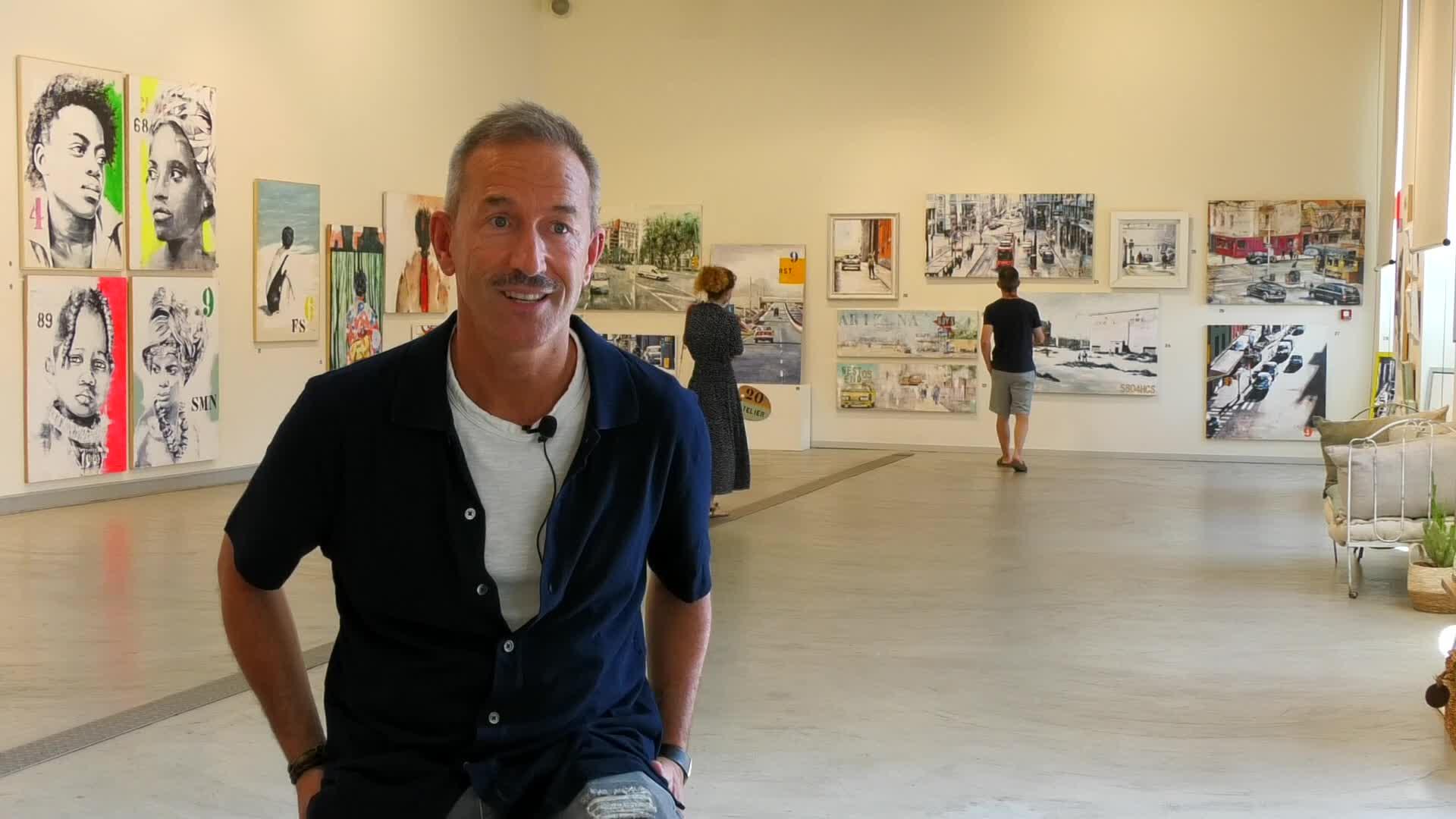 'L'atelier bat' erakusketa ireki du Pedro Luengo margolariak Zumaiako Oxford aretoan