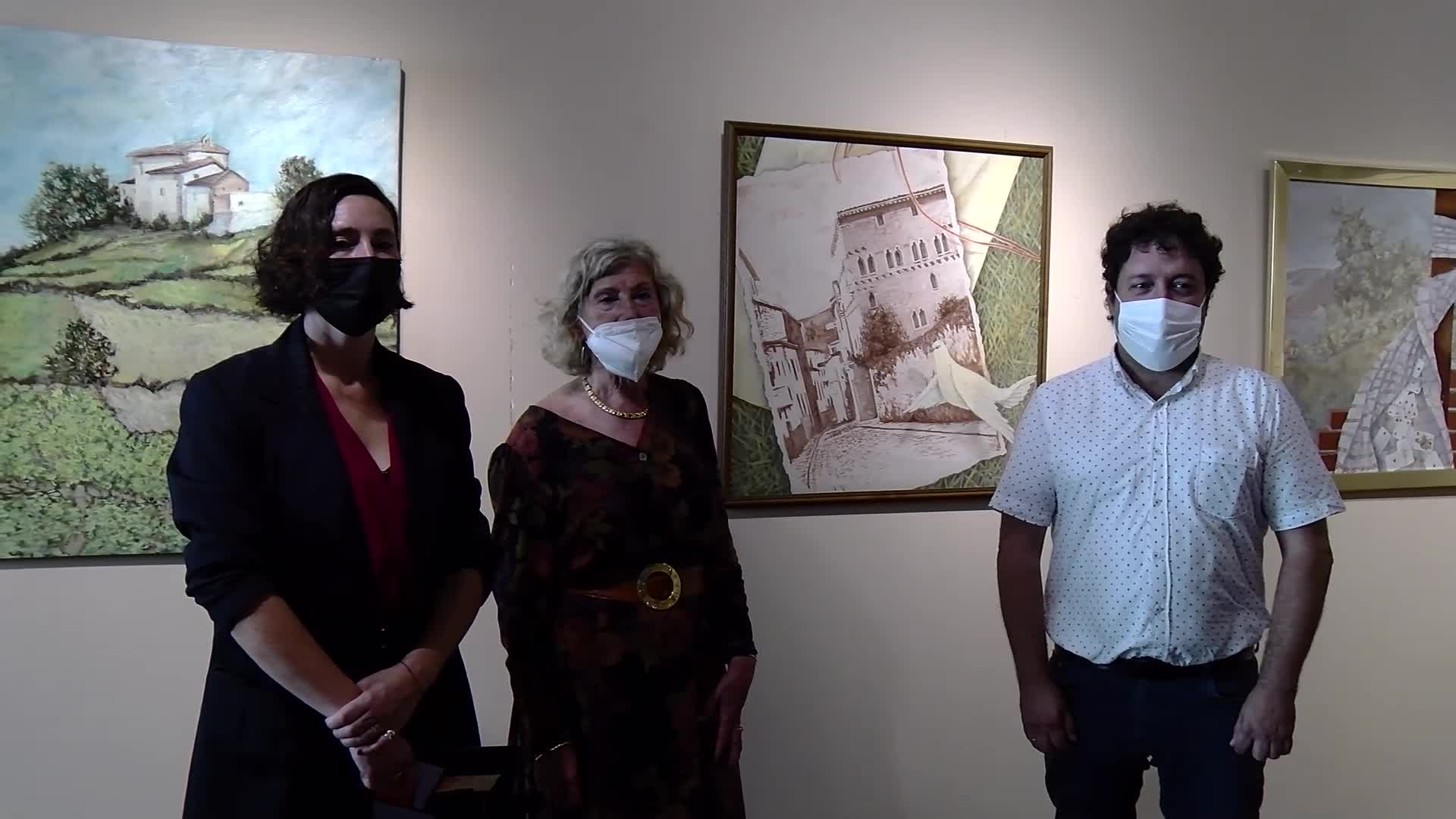 'Bihotz bihotzetik' erakusketa zabaldu dute Torre Luzean