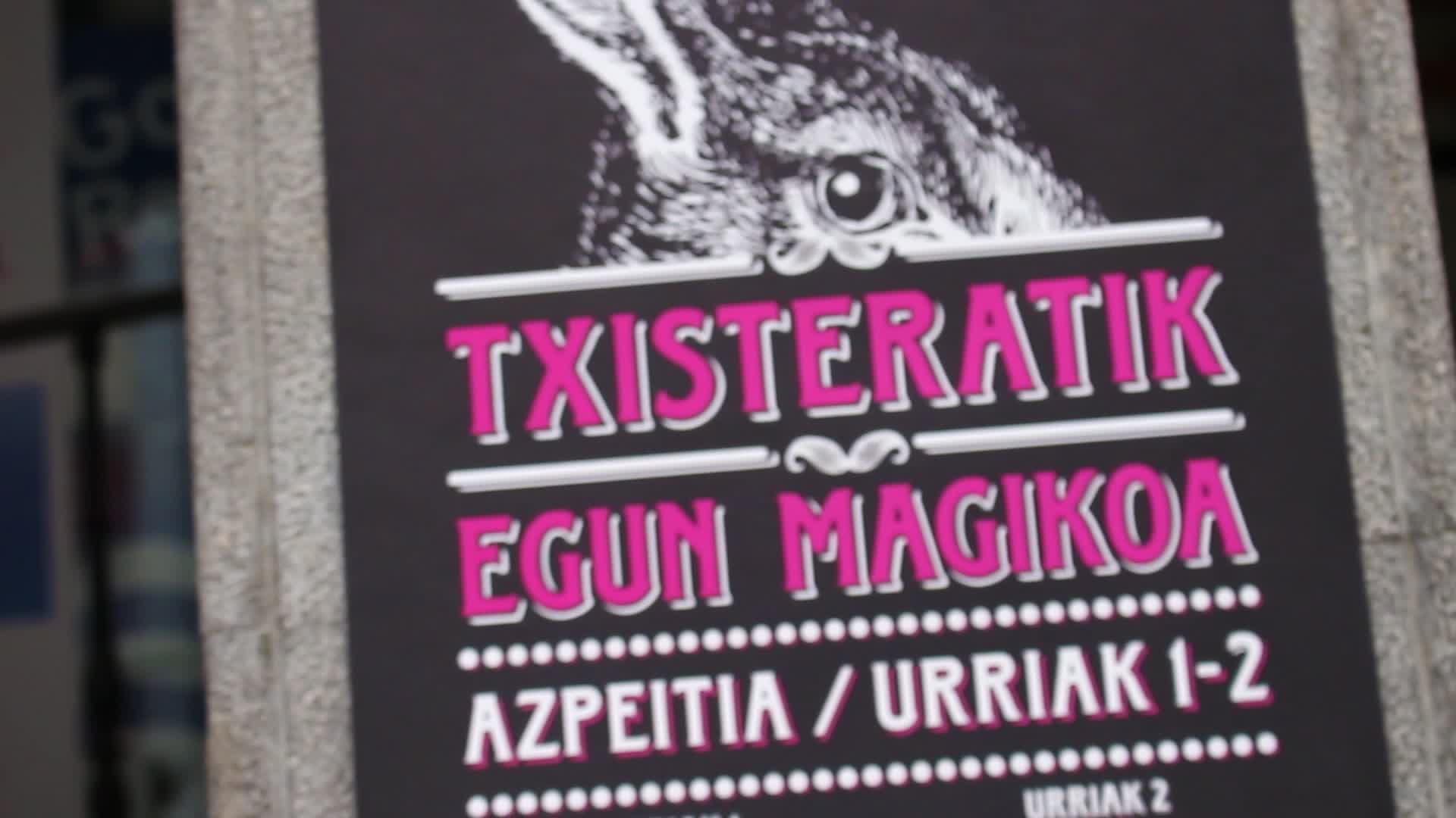 Azpeitia magiaz beteko du asteburuan  V. Txisteratik Egun Magikoak